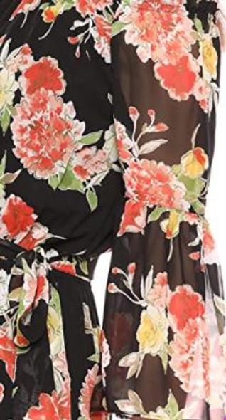 Dress Nine West Floral Multi orange 4