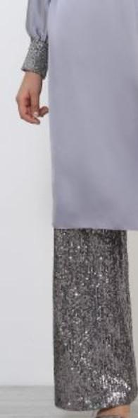 Pants suit Evening wear Refka Silver without belt
