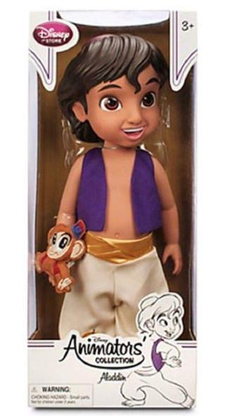 Toy Disney Animators' Collection Aladdin Doll - 16''