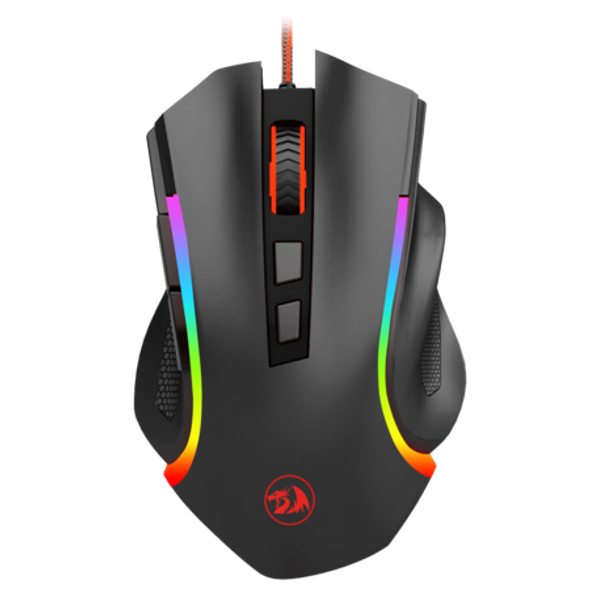 COMPUTER MOUSE RED DRAGON GRIFFIN M607 WIRED GAMING