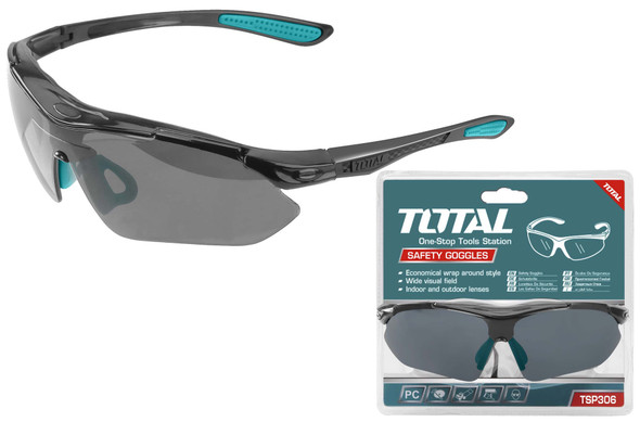 SAFETY GOGGLES TOTAL TSP306