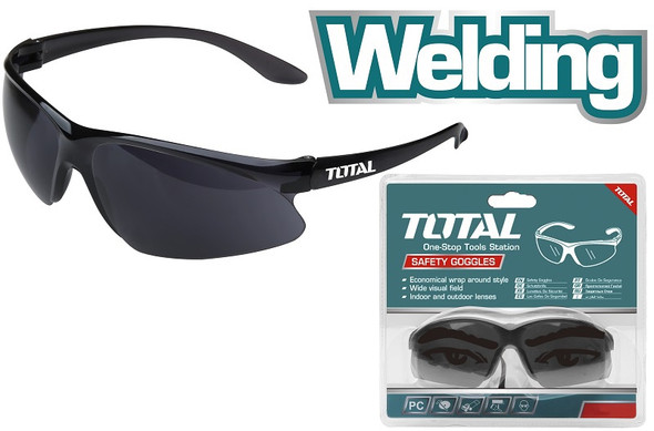 SAFETY GOGGLES WELDING GLASS TOTAL TSP307