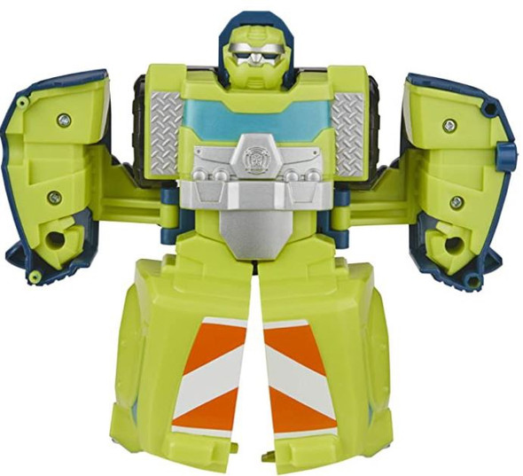 Toy Transformers Playskool Heroes Rescue Bots Academy Salvage Converting Toy, 4.5