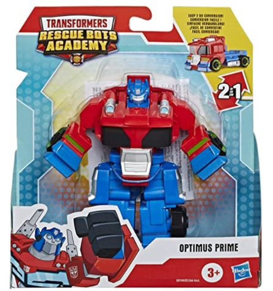 Toy Transformers Rescue Bots Academy Optimus Prime Converting  4.5-Inch