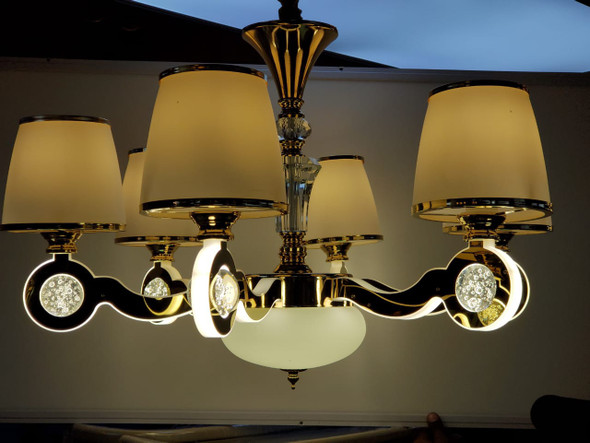 CHANDELIER LED 69013-6 with REMOTE CONTROL