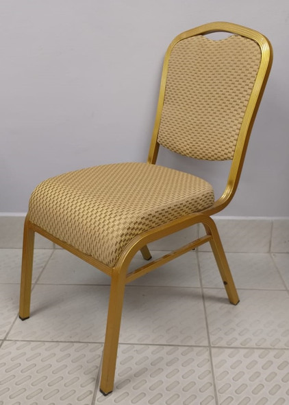 CHAIR WAITING GOLD AND GOLD