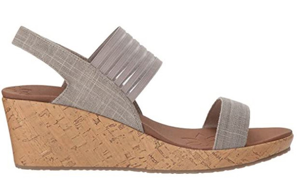 Footwear Skechers Cali Beverlee Smitten Kitten Wedge Sandal