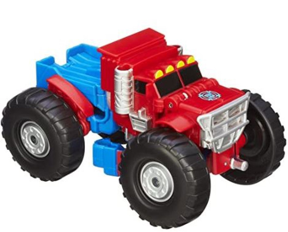 "Toy Playskool Heroes Transformers Rescue Bots Optimus Prime 2.36 x 6.5 x 9.49"""