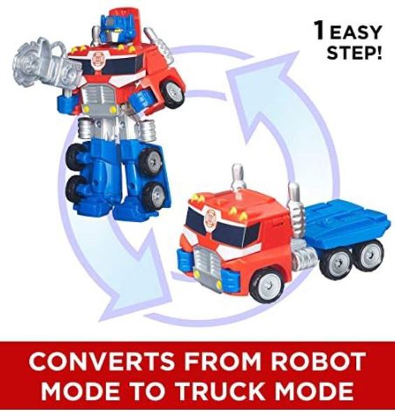 Toy Playskool Transformers Rescue Bots Energize Optimus Prime Action Figure