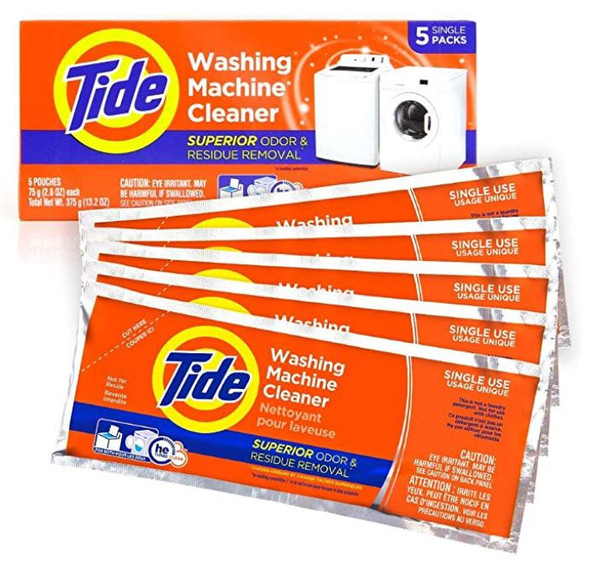 Washing Machine Cleaner Tide Tablets for Front & Top Loader Machines