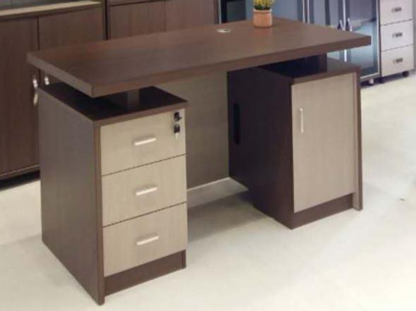 OFFICE DESK TABLE SET YF007-140X 1.4M 1400X700X760mm A & B