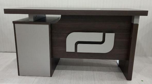 OFFICE DESK TABLE SET YF081-120X 1.2M 1200X600X760mm A & B WOOD AND METAL