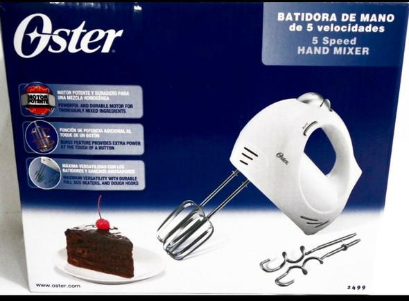CAKE MIXER (HAND) OSTER 2499 5 SPEED 120-220V