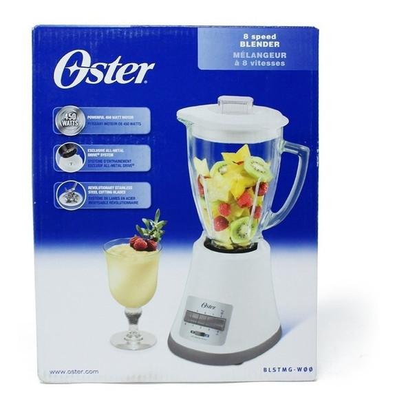 BLENDER OSTER 8SP BLSTMG-W00 GLASS WHITE 220V