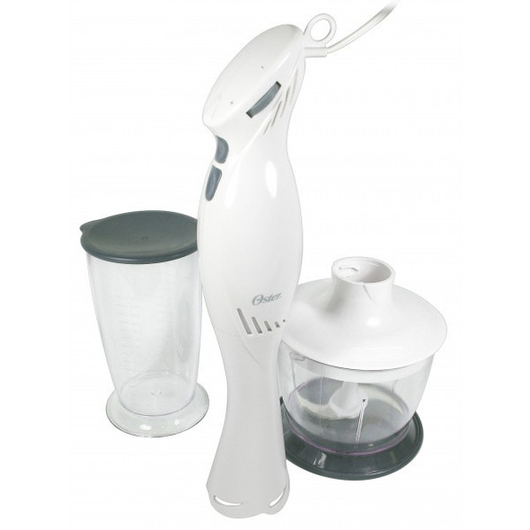 BLENDER OSTER 2612 STICK MIXER WITH CHOPPER AND CUP WHITE 220V