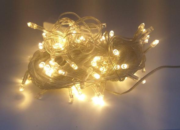 FAIRY LIGHT 100 BULB LED WARM WHITE 110V