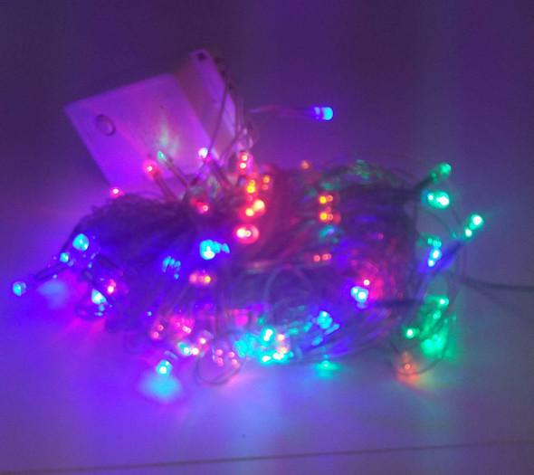 FAIRY LIGHT 100 BULB LED MULTI COLOR 110V