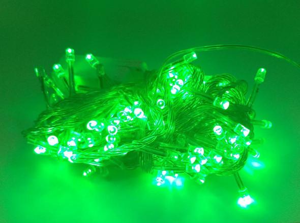 FAIRY LIGHT 140 BULB LED GREEN 110V
