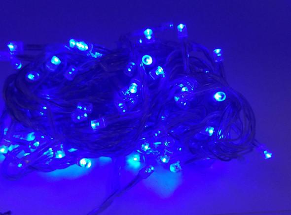 FAIRY LIGHT 140 BULB LED BLUE 110V