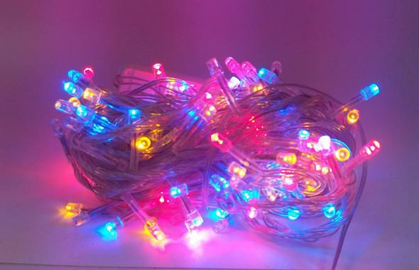 FAIRY LIGHT 140 BULB LED MULTI COLOR 110V