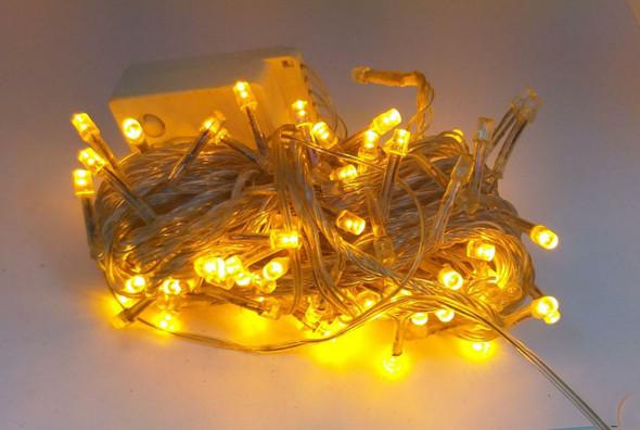 FAIRY LIGHT 140 BULB LED ORANGE 110V