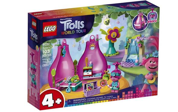 Toy LEGO Trolls World Tour Poppy's Pod Minifigure (103 Pieces)