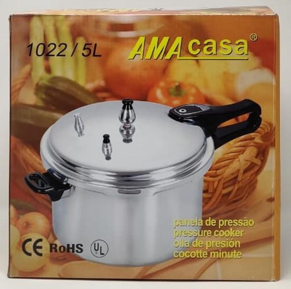 PRESSURE COOKER AMA CASA 5LT 1022