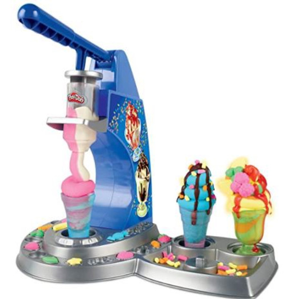 Toy Play-Doh Kitchen Creations Ice Cream Playset Drizzle Compound & 6 Non-Toxic Colors