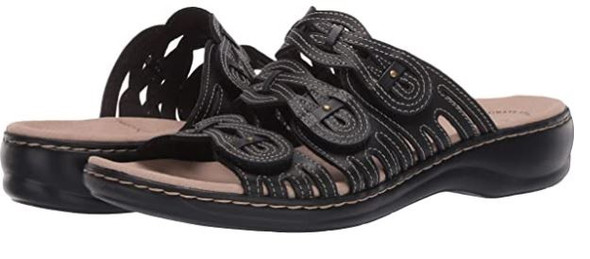 Footwear Clarks Women's Leisa Faye Sandal Black