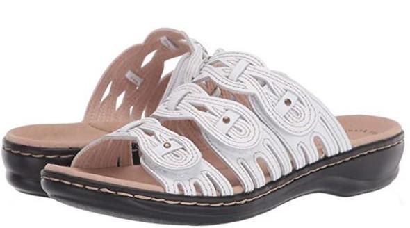 Footwear Clarks Women's Leisa Faye Sandal white
