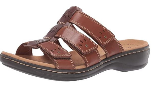 Footwear Clarks Women's Leisa Spring Slide Sandal Brown