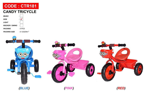 TRICYCLE 3 WHEEL CTR-181
