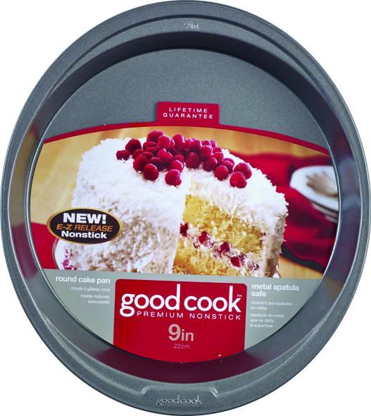 """CAKE PAN GOODCOOK ROUND 04016 9"""" 22CM"""