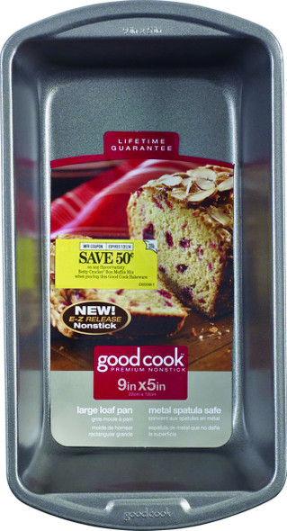 "CAKE PAN GOODCOOK LARGE LOAF 04026 9"" X 5"" 22CM X 12CM"