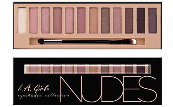 Makeup Eyeshadow palette L.A Girl Nudes
