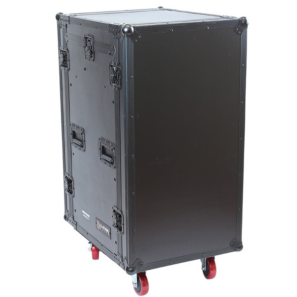 CONSOLE RACK CASE BLASTKING IBKE-ARW16UME 16 SPACE WITH MIXER AND WHEEL