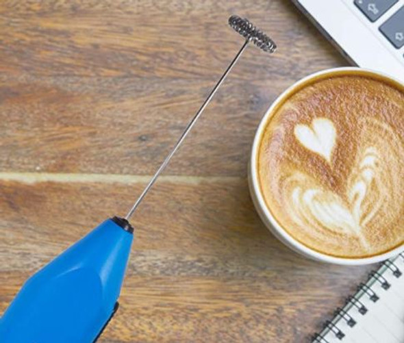 Milk Frother Remeel Handheld with Stainless Steel Whisk