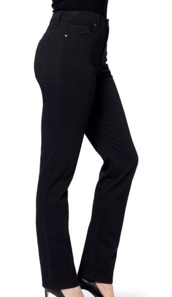 Pants Women Gloria Vanderbilt Amanda Jeans Black Average