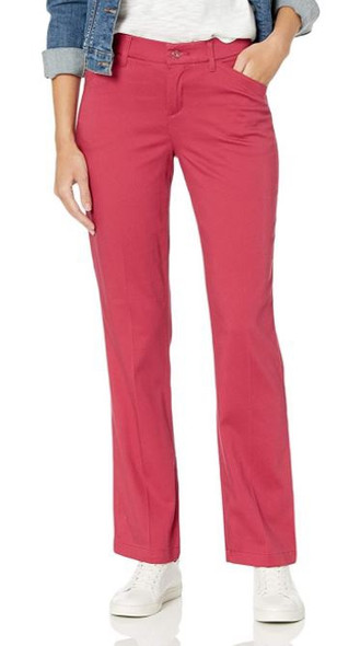 Pants Women Lee Motion Flex size 4 Straight leg