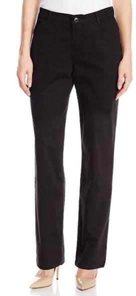 Pants Women Lee Straight leg Black Medium
