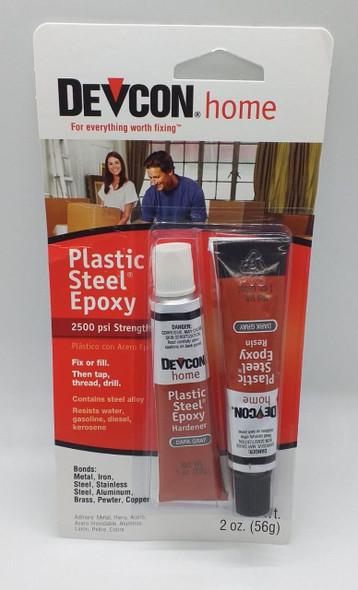 PLASTIC STEEL 2HR (EPOXY BONDO/DEVCON)