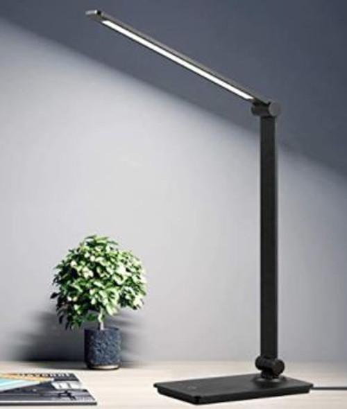 Desk Lamp LED Dimmable 8w Black Aluminum alloy