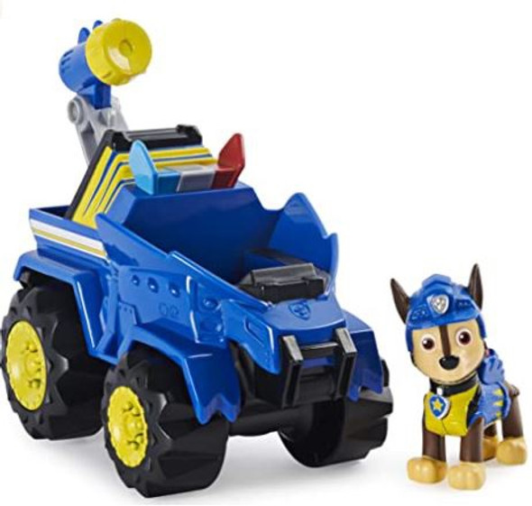 Toy Paw Patrol Dino Rescue Chase's Rev Up Vehicle with Mystery Dinosaur