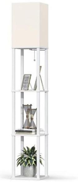 Floor Lamp Addlon LED Modern Shelf for Living Room Bedroom and Office