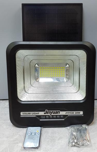 LAMP LED SOLAR FLOOD 30W JINYUAN JY9930 6500K 60PCS LED