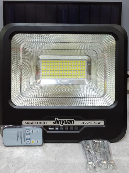 LAMP LED SOLAR FLOOD 60W JINYUAN JY9960 6500K 120PCS LED