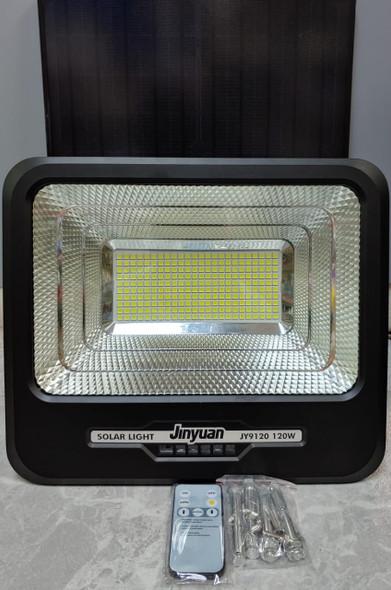 LAMP LED SOLAR FLOOD 120W JINYUAN JY9120 6500K 240PCS LED