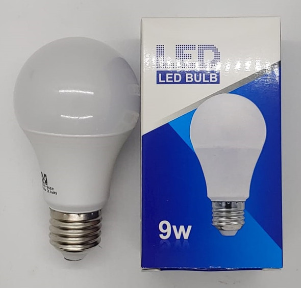 BULB LED 9W 85-265 ROHS ROUND ZY 6500K