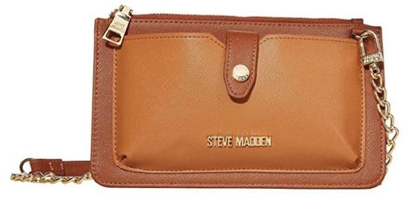 Purse Shoulder Bag Steve Madden Cognac Bvynn