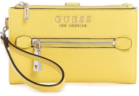 Purse Wallet Guess Wristlet Organizer Double zip